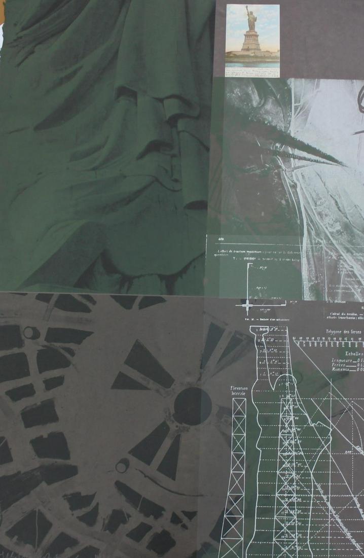Robert Rauschenberg - Statue of Liberty