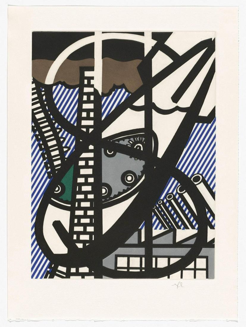 Roy Lichtenstein - Une Fenetre Ouverte sur Chicago