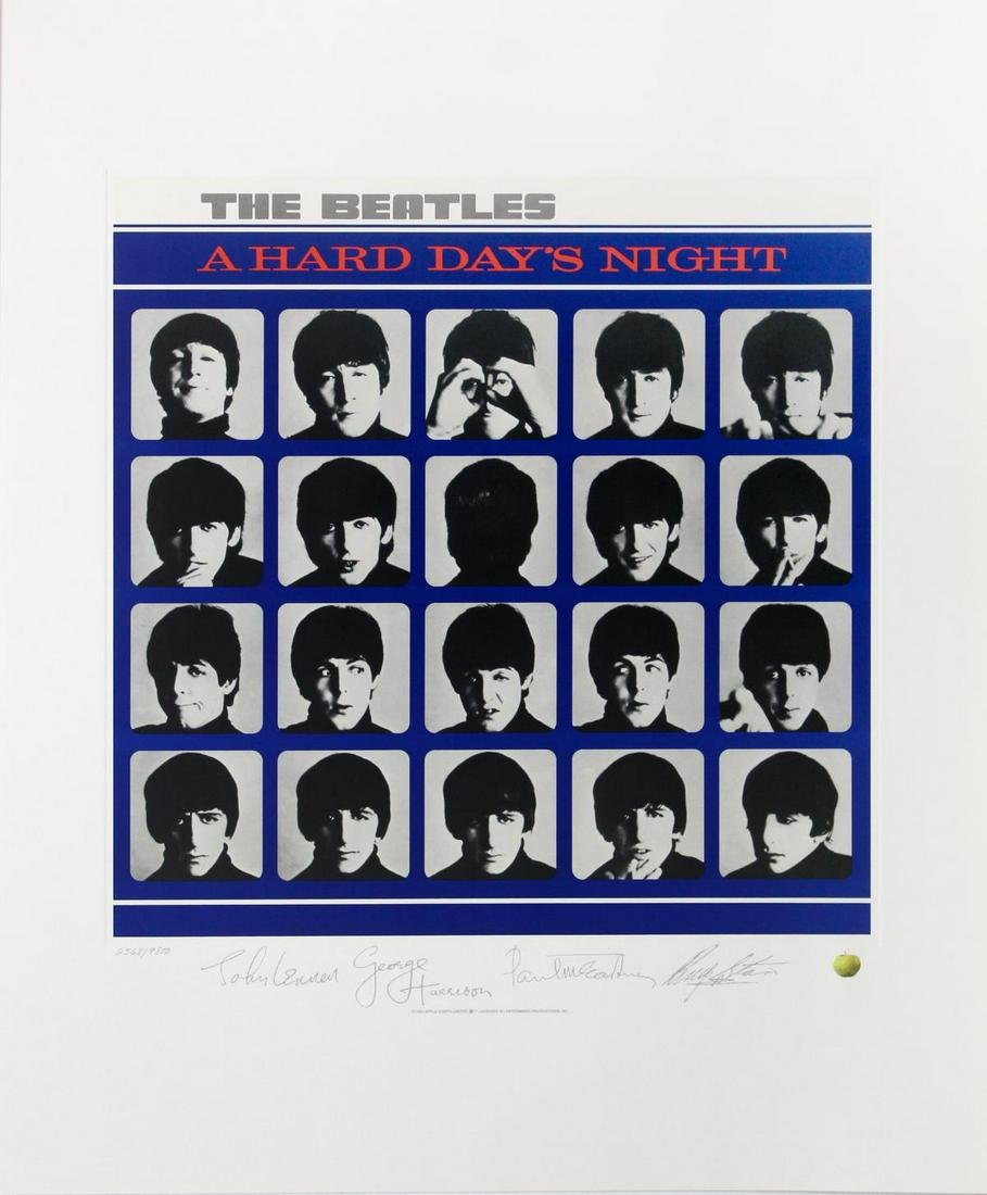The Beatles - A Hard Days Night