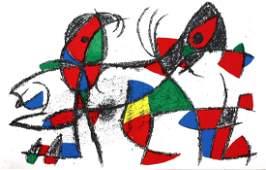 Joan Miro - Original Lithograph X
