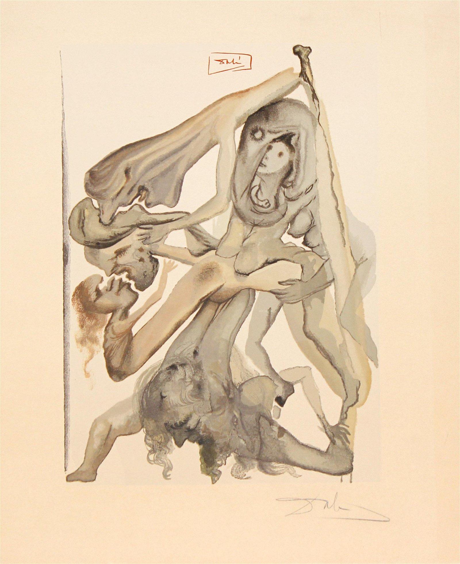 Salvador Dali - News of the Limbos