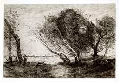 Jean-Baptiste-Camille Corot - Island San Bartolomeo