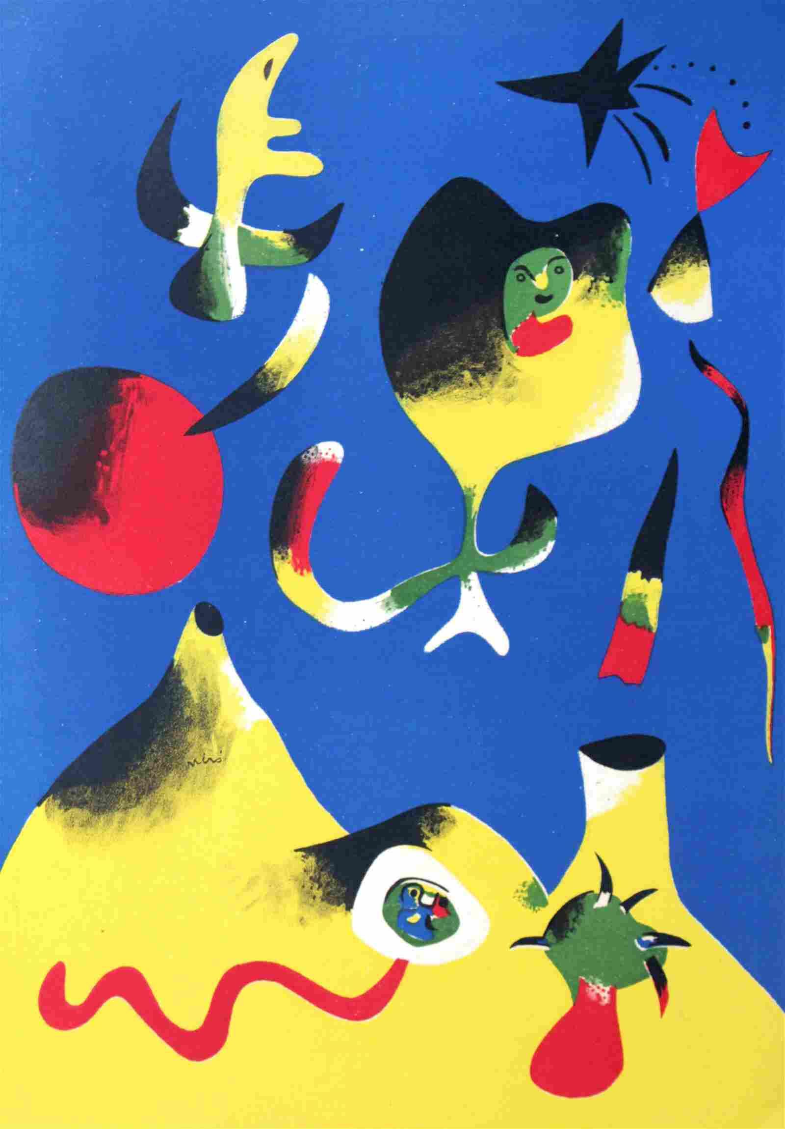 Joan Miro - 1938 Rare L'ete (Air)