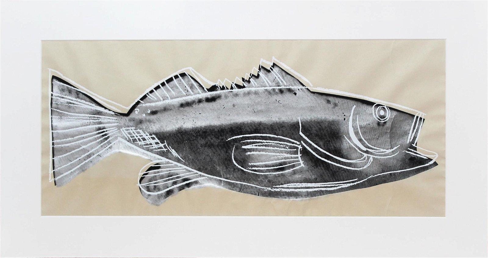 Andy Warhol - Fish (Wallpaper Panel)