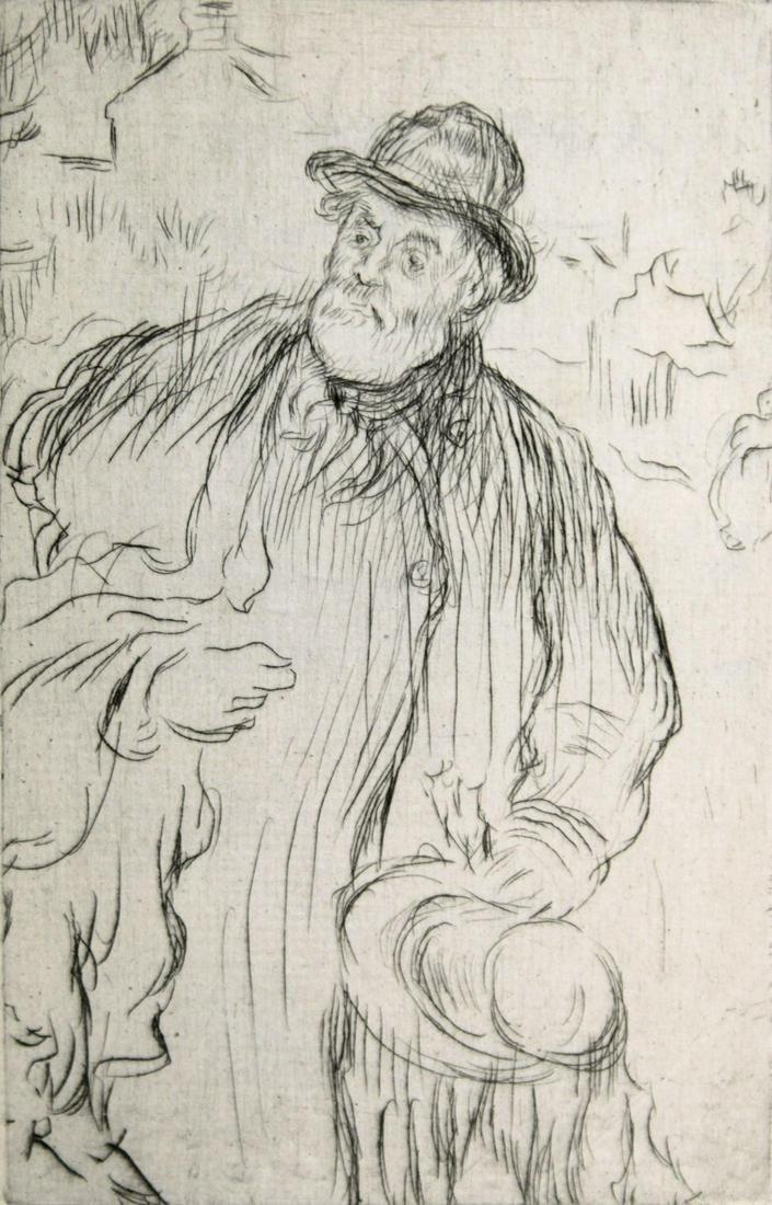 Jean-Francois Raffaelli - Self portrait