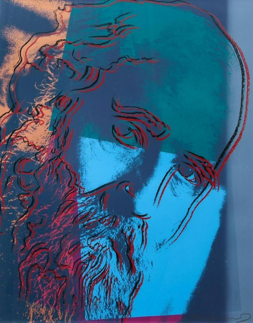 Andy Warhol - Martin Buber