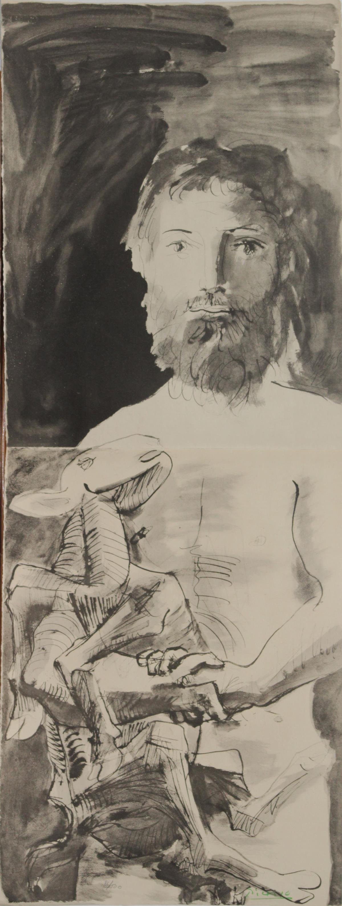 Pablo Picasso (After) - Man with Sheep
