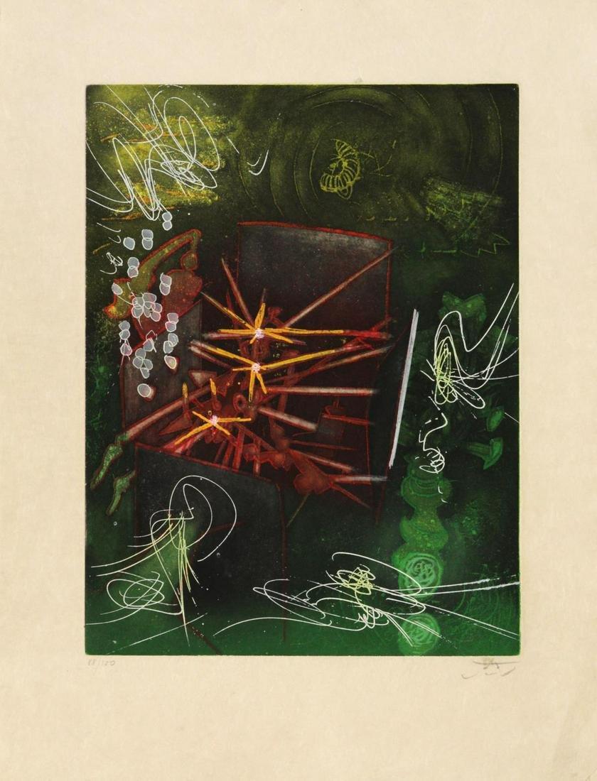 "Roberto Matta - Untitled from ""Une Saison en Enfer"""