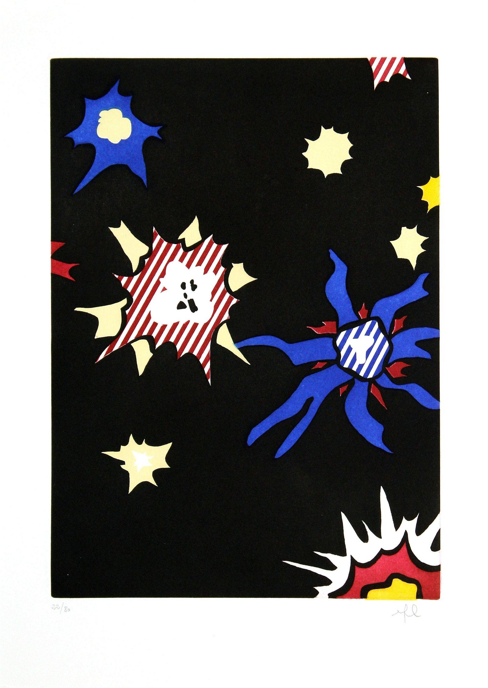 Roy Lichtenstein - Hum Bum!