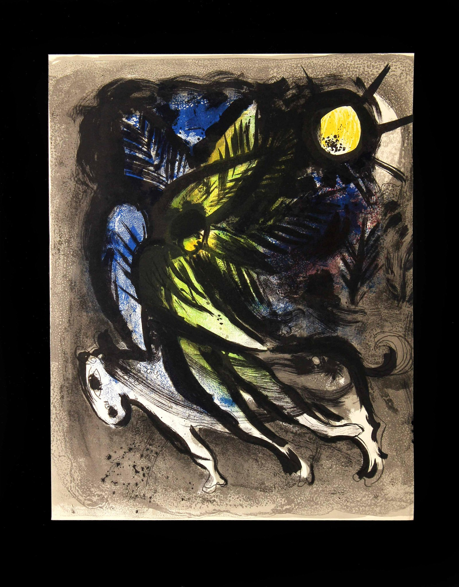 Marc Chagall - The Angels