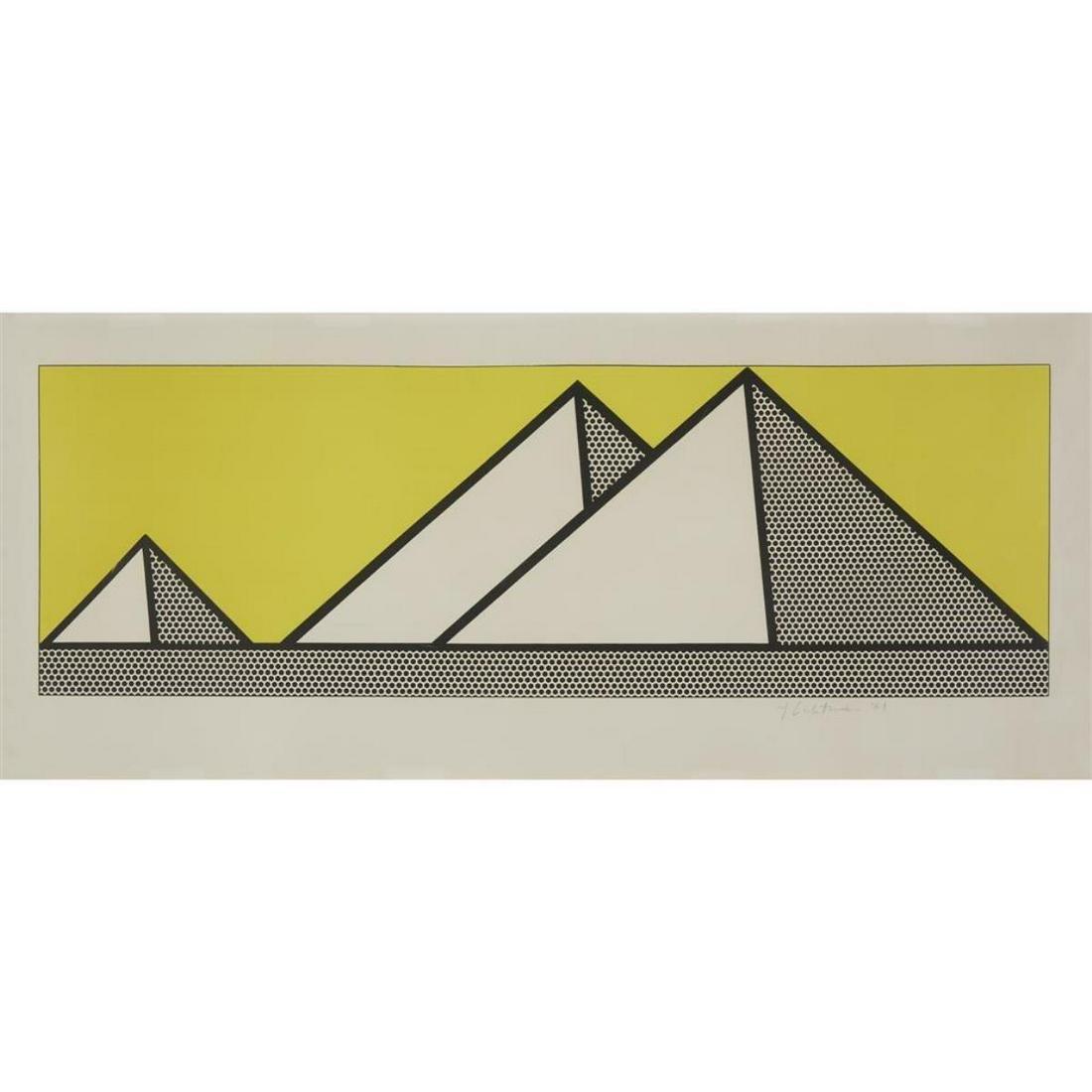 Roy Lichtenstein - Pyramids