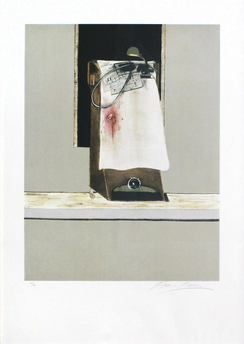 """Francis Bacon - Panel from """"Triptych 1986-1987"""""""