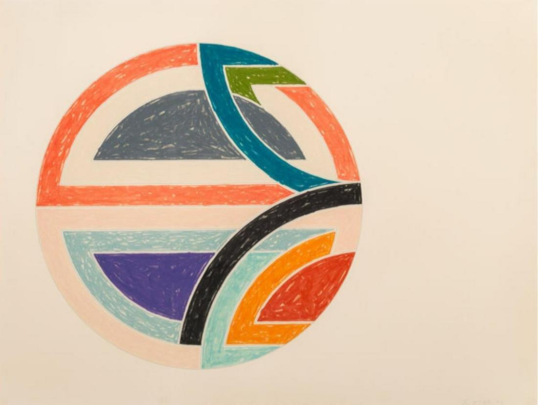 Frank Stella - Sinjerli Variation Ia