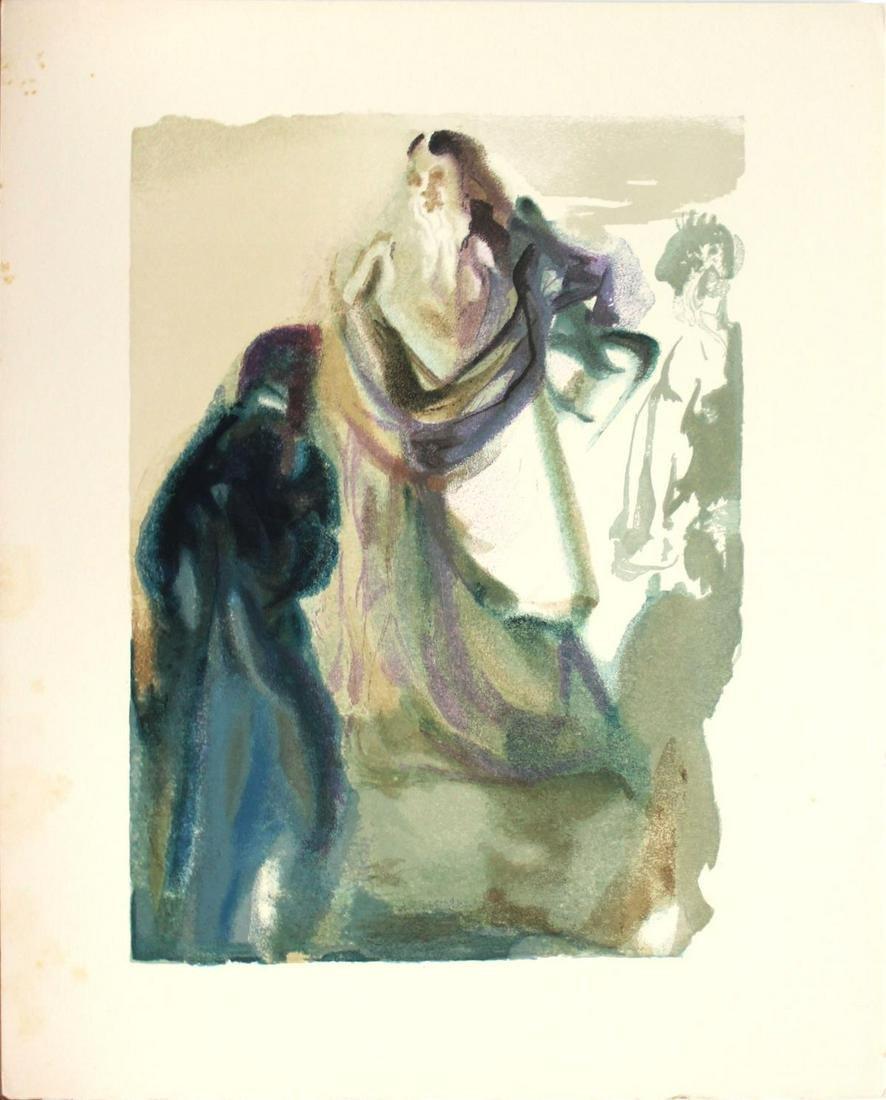 Salvador Dali - The Walk Toward God