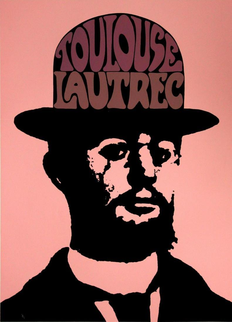Peter Max - Toulouse Lautrec