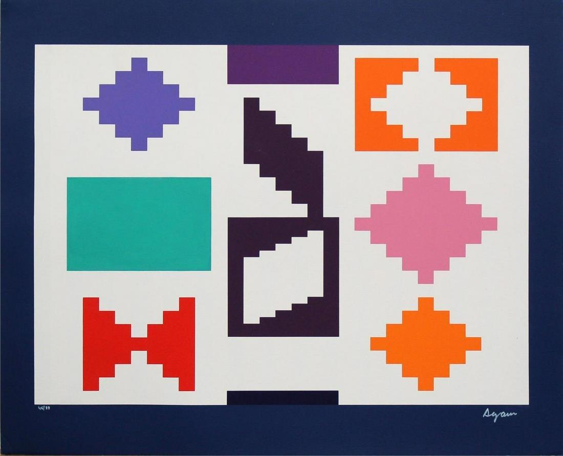 Yaacov Agam - Design IV
