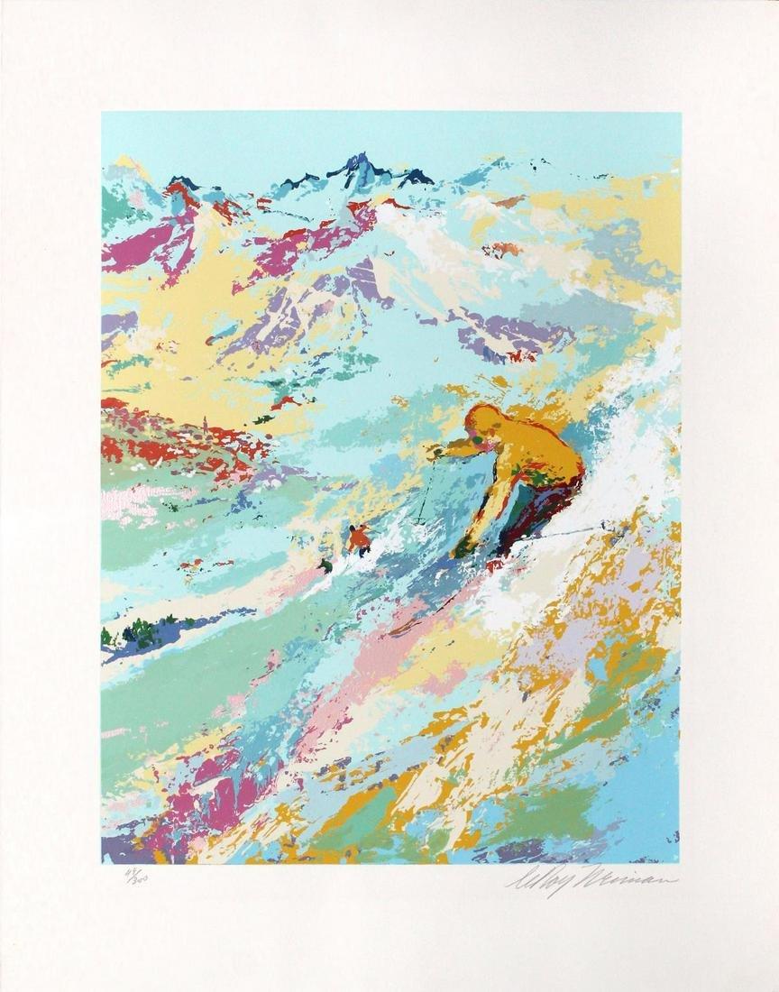 LeRoy Neiman - Alpine Skiing