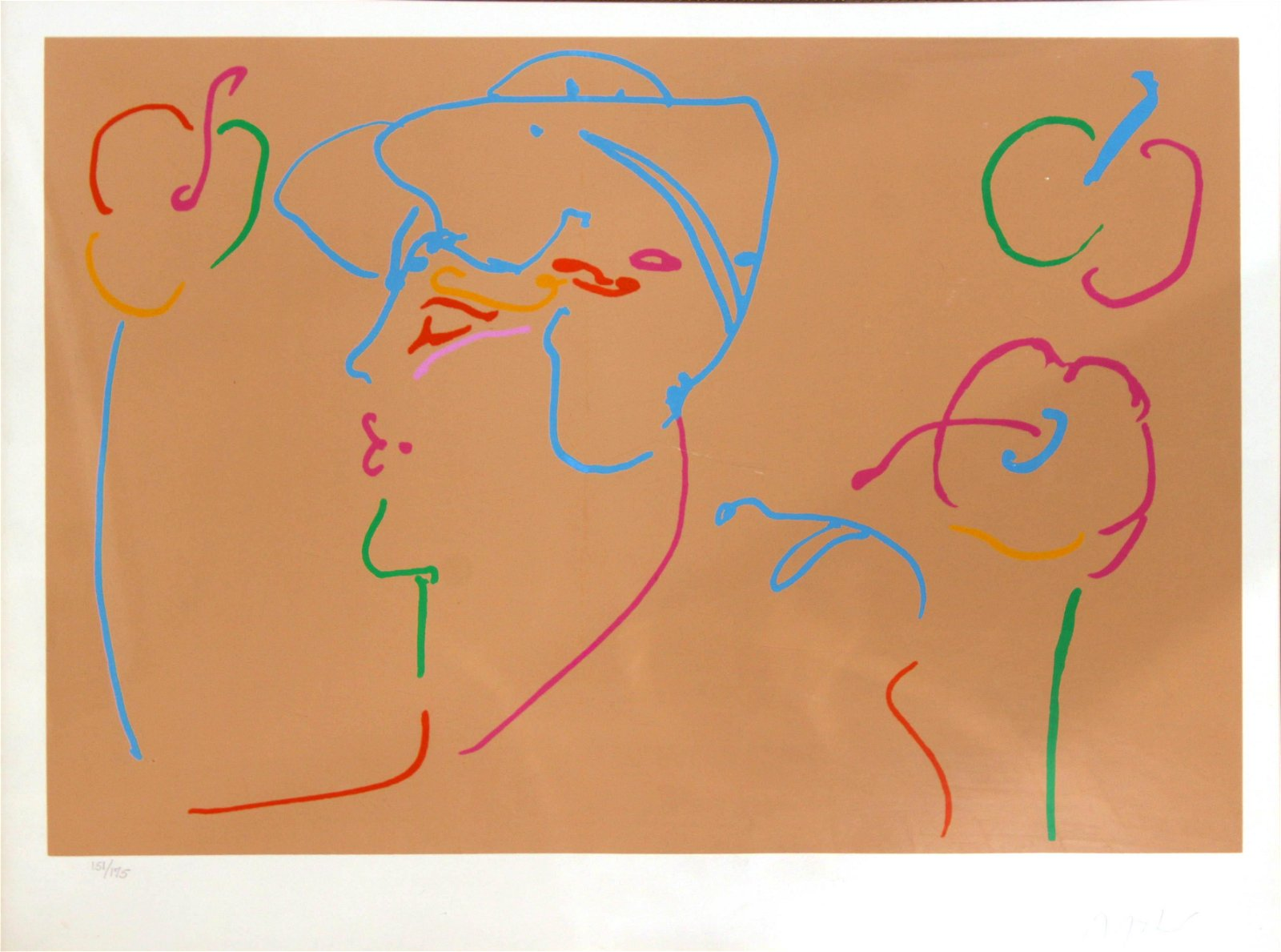 Peter Max - Untitled