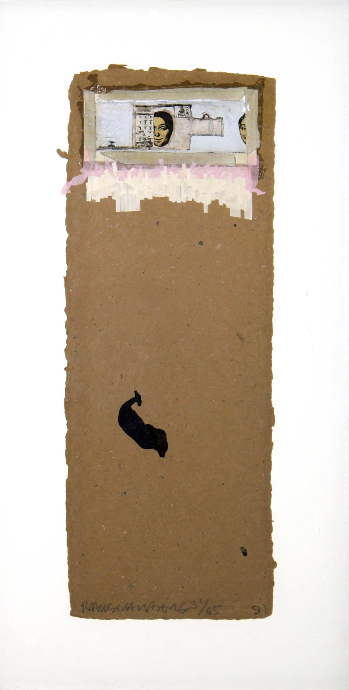 "Robert Rauschenberg - Untitled from ""Shirtboards"""