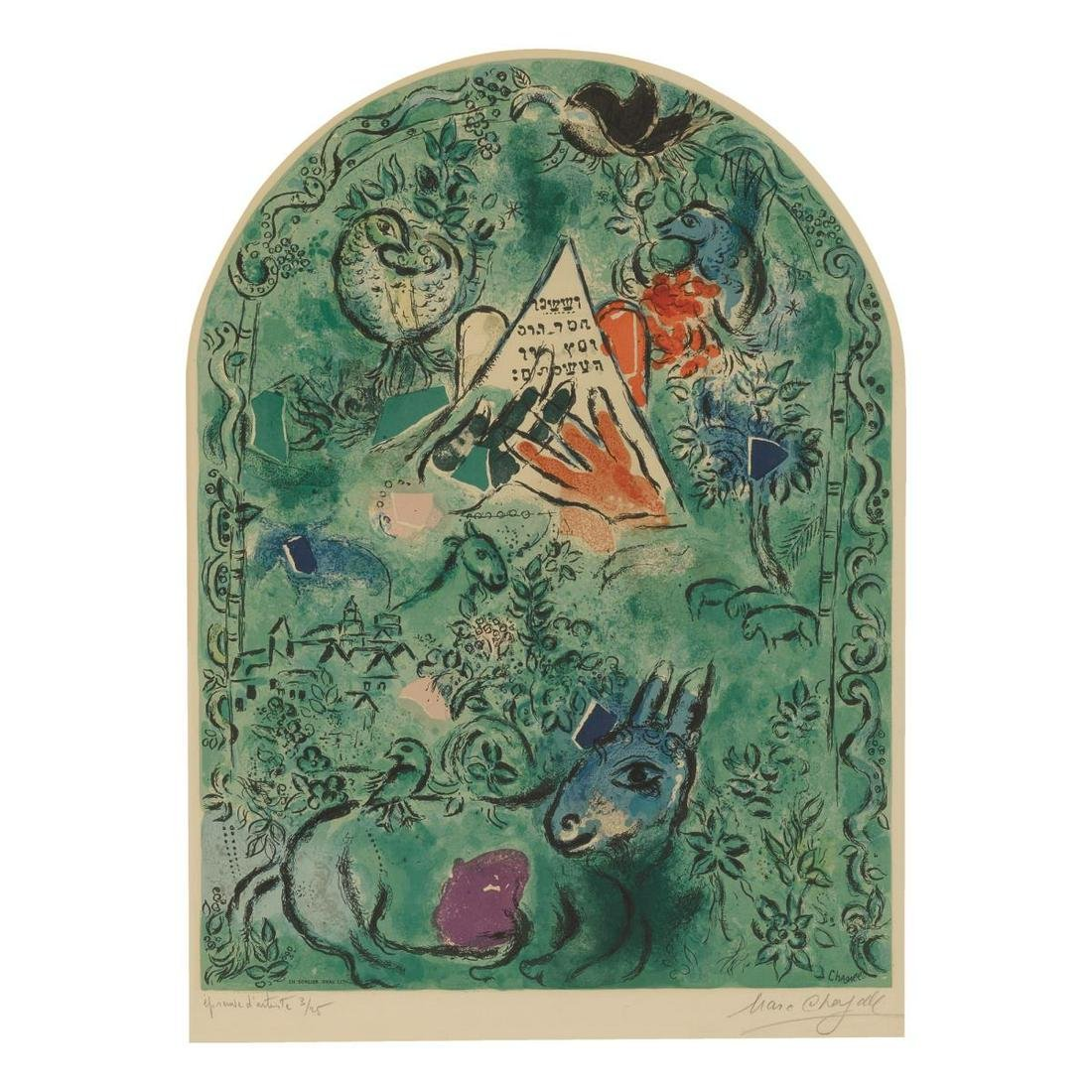 Marc Chagall (After) - The Tribe of Issachar