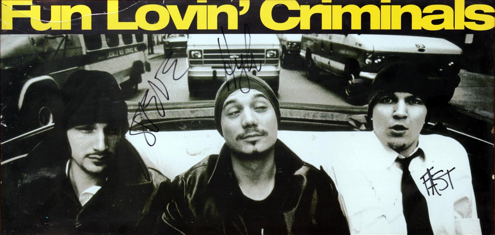 Fun Lovin Criminals - Signed Poster
