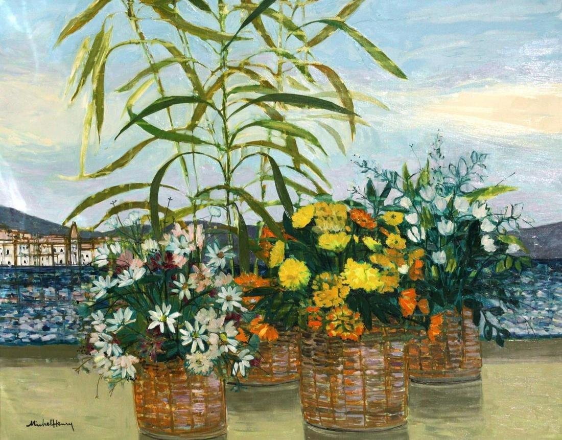 Michel Henry - Original Oil Painting