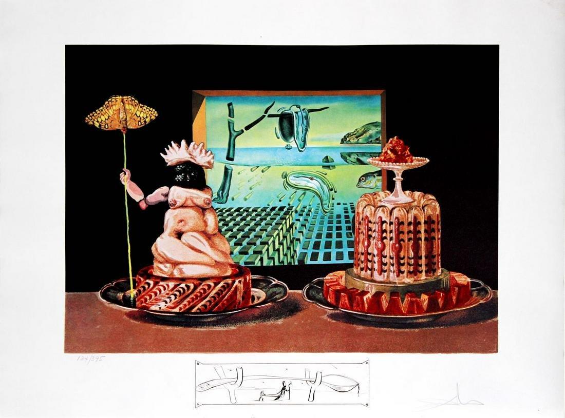 Salvador Dali - Les Je Mange Gala