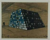Christo  The Mastaba 1240 Oil Barrels Project for the