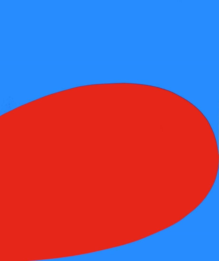 Ellsworth Kelly - Red/Blue