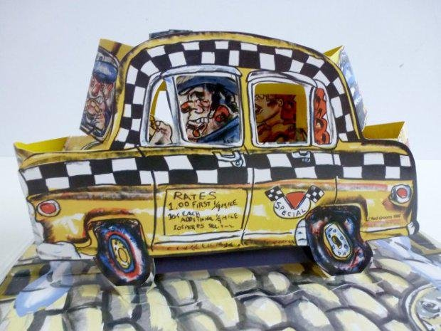 Red Grooms - Ruckus Taxi