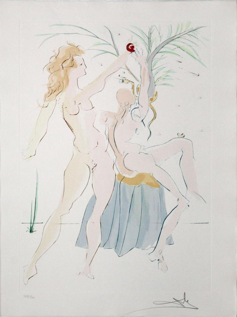 Salvador Dali - Adam and Eve