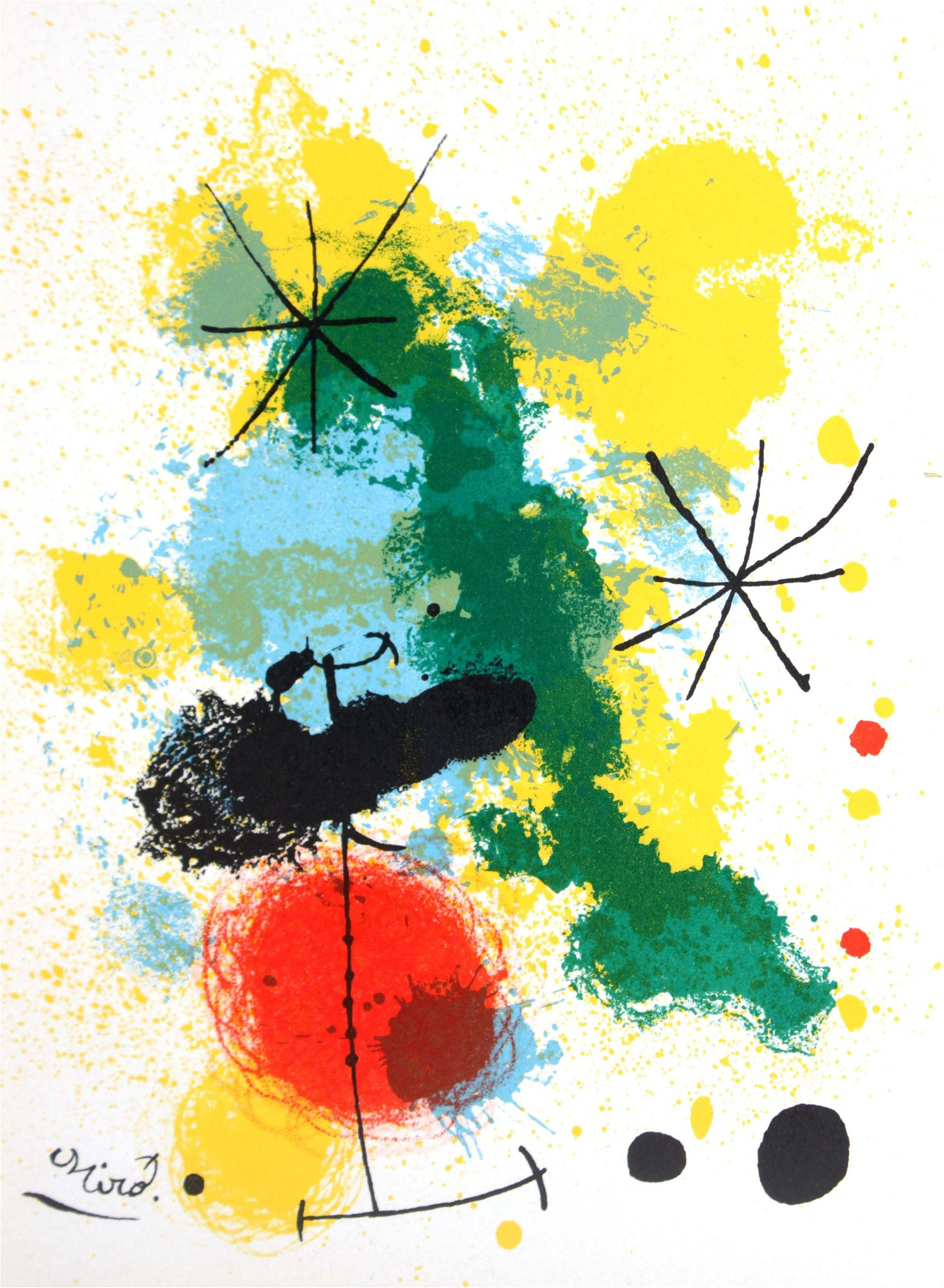 Joan Miro - Original Lithograph