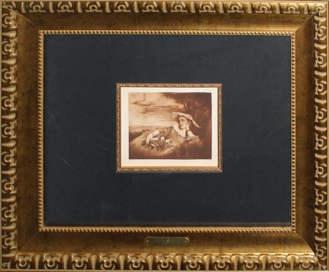 Gustave Courbet - Ende Pour une des Demoiselles des