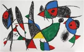 Joan Miro - Lithograph IX