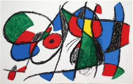 Joan Miro - Original Lithograph VIII
