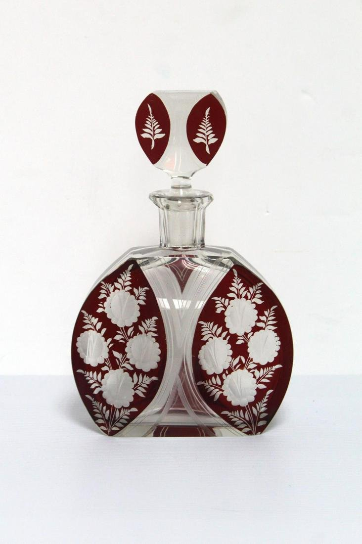Unknown - Vintage Czech Art Deco Perfume Bottle