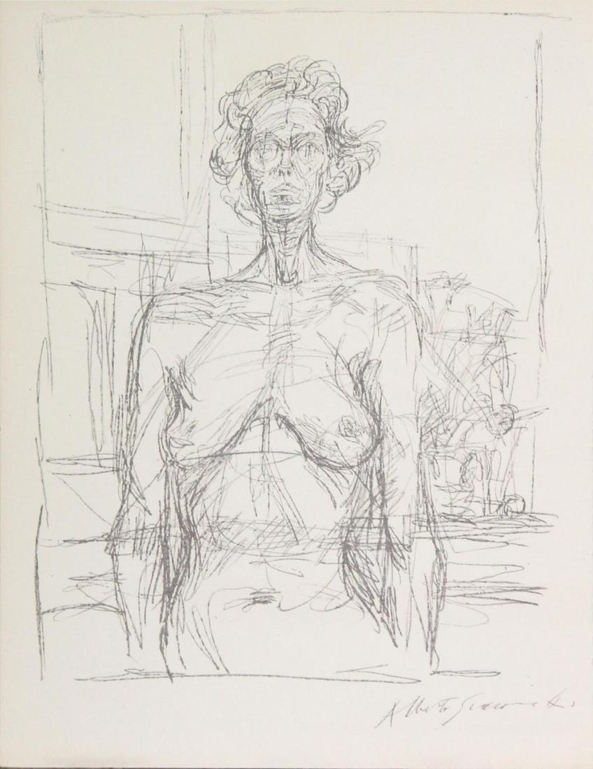 Alberto Giacometti - Untitled