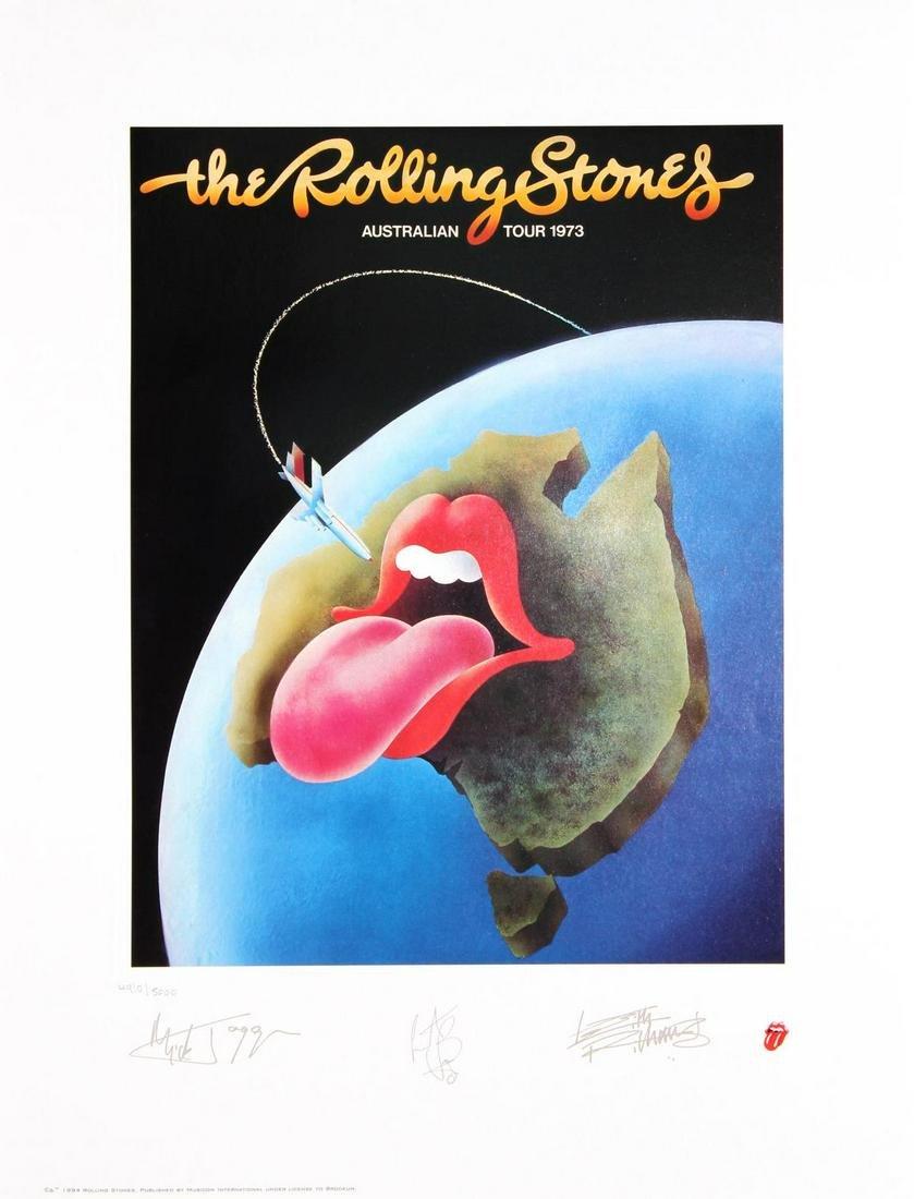 The Rolling Stones - Australian Tour 1973