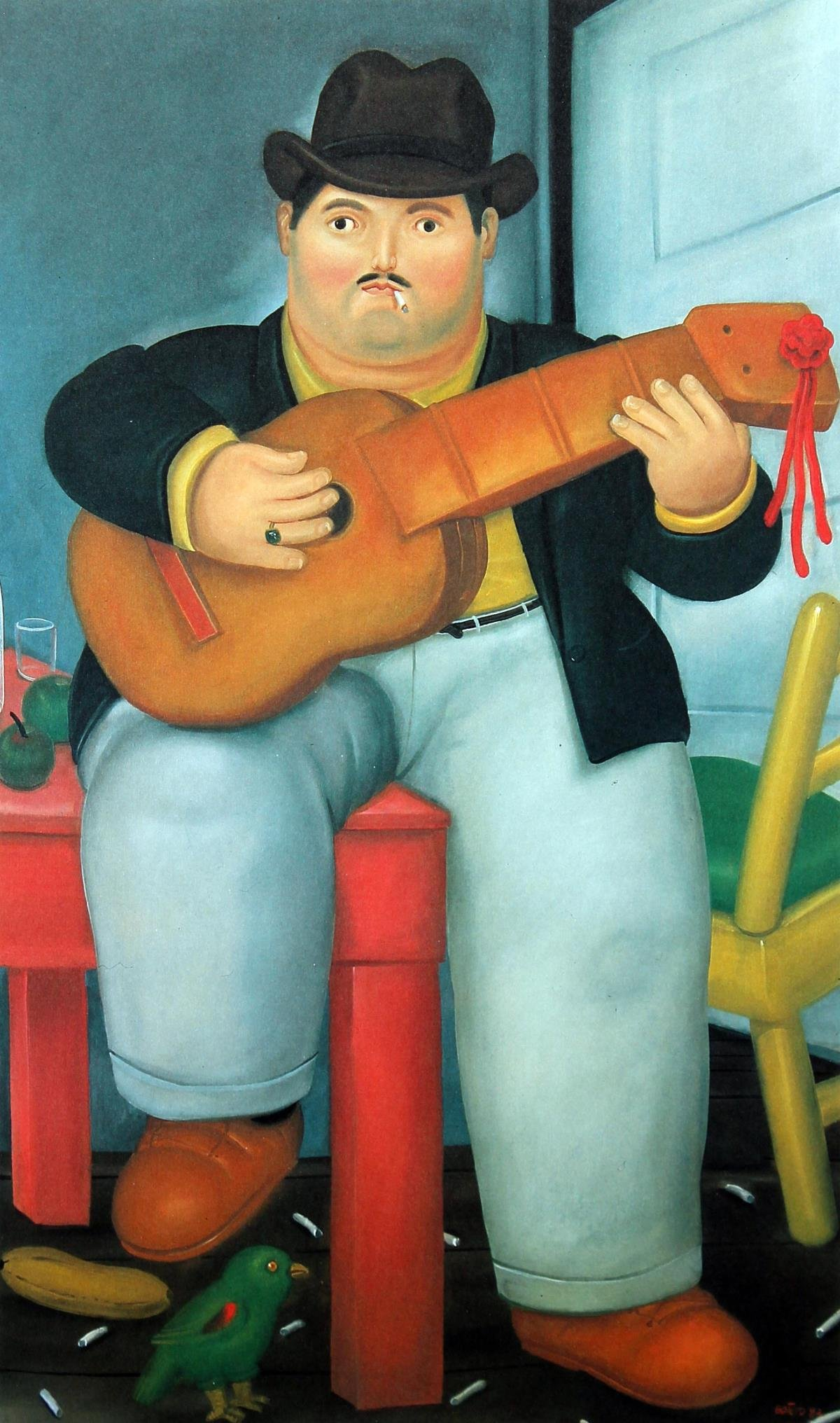 Fernando Botero (after) - Guitarist