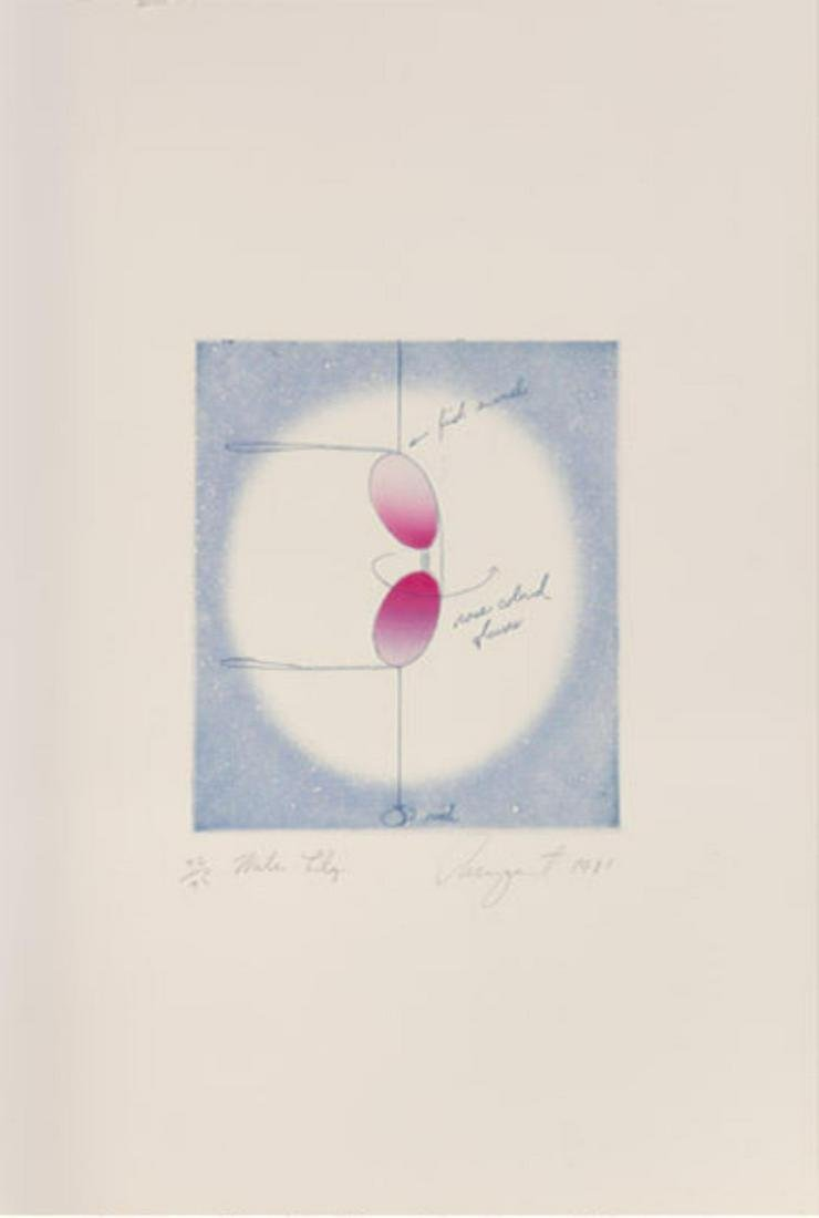 James Rosenquist - Water Lily