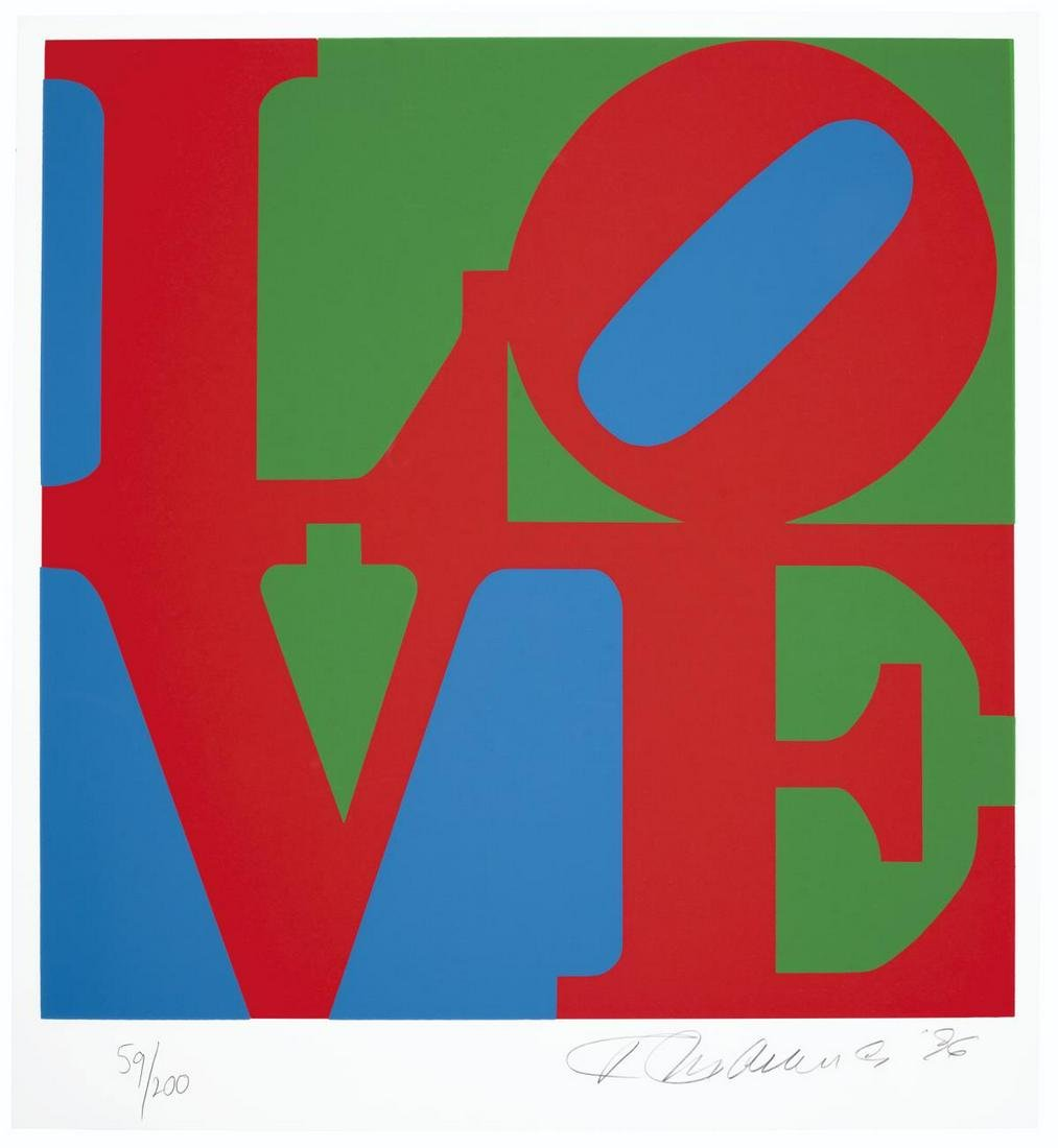 Robert Indiana - Book of Love