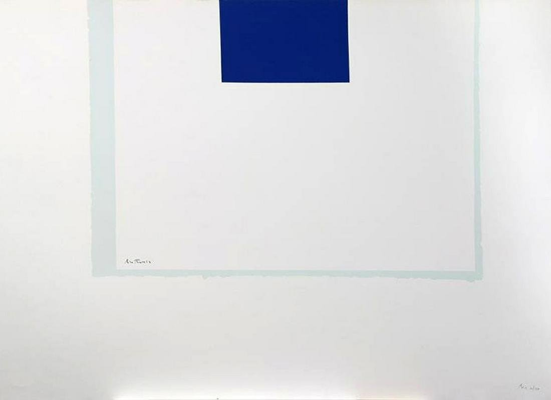 Robert Motherwell - Untitled (Blue/White) from London