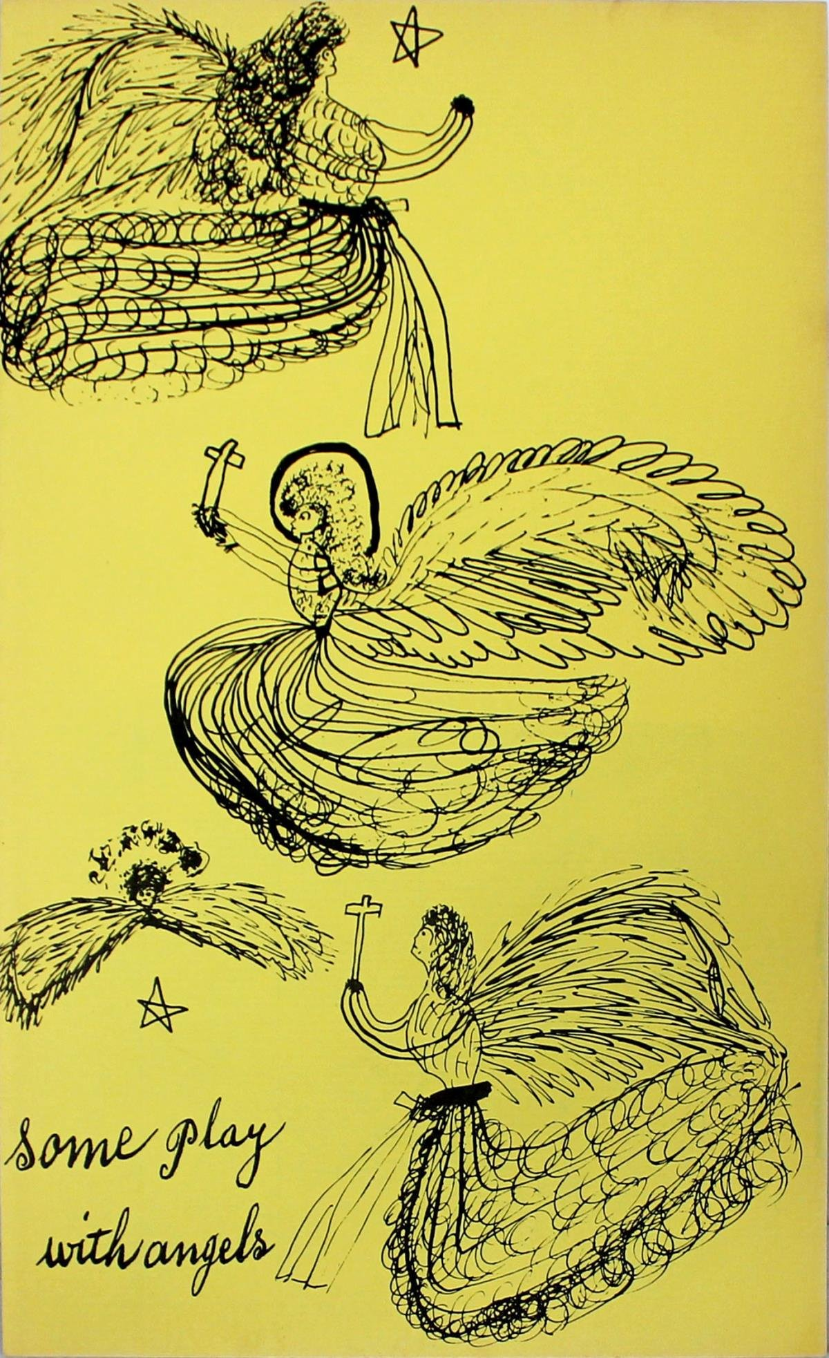 Andy Warhol - Some Play with Angels