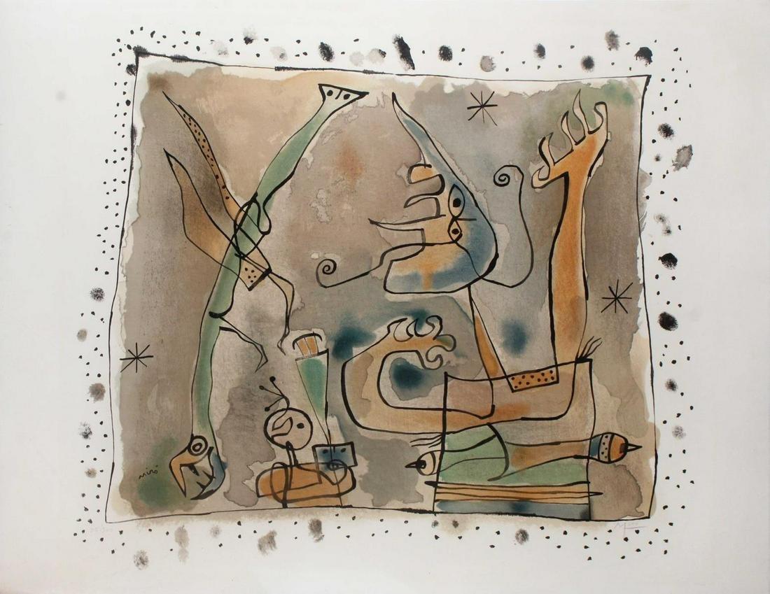Joan Miro - Apres l'Orage