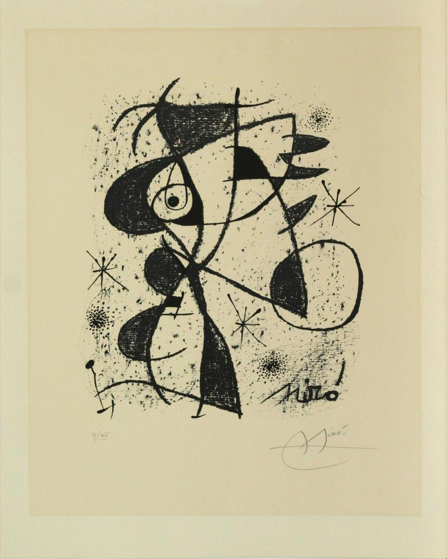 Joan Miro - Jaillie du Calcaire