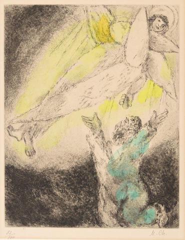 Marc Chagall - Vision d'Esaie de la Bible