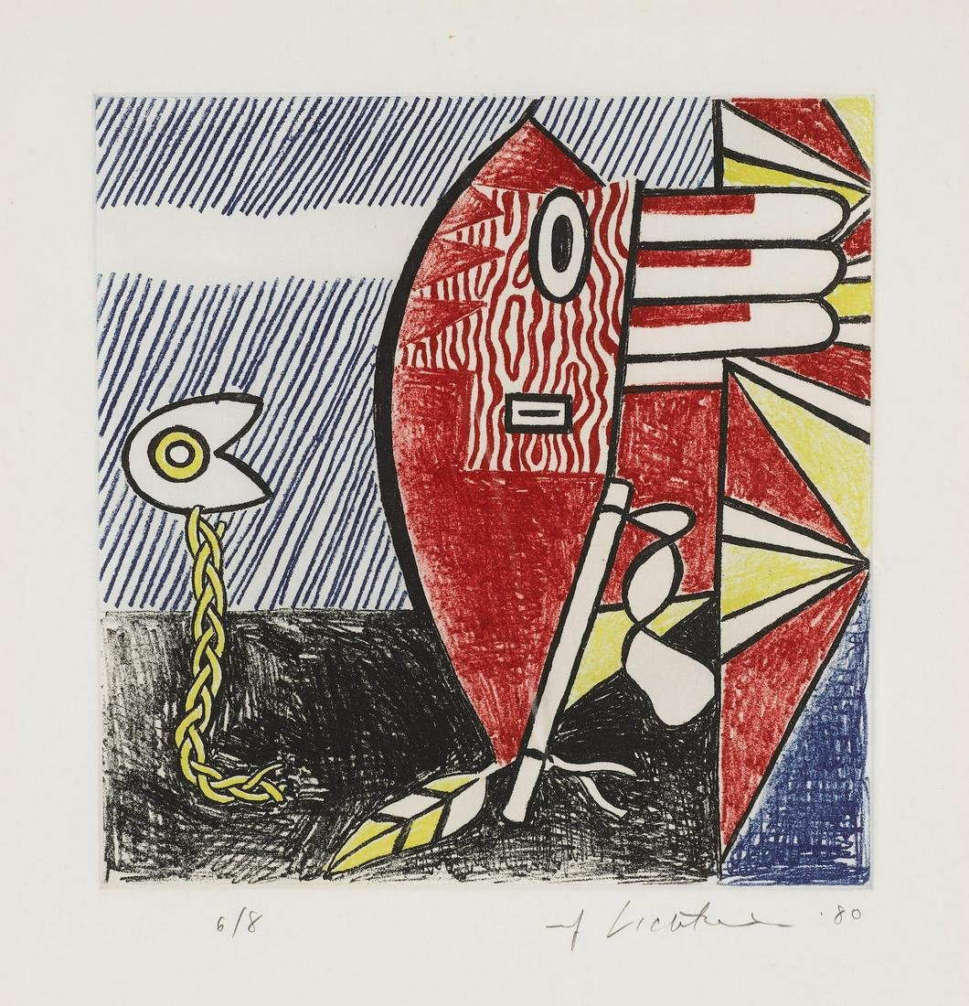 Roy Lichtenstein - Untitled II