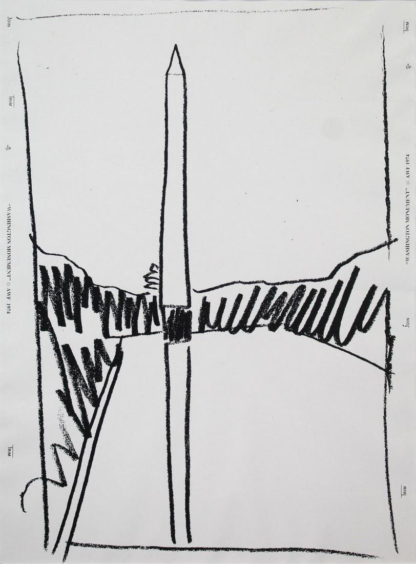 Andy Warhol - Washington Monument