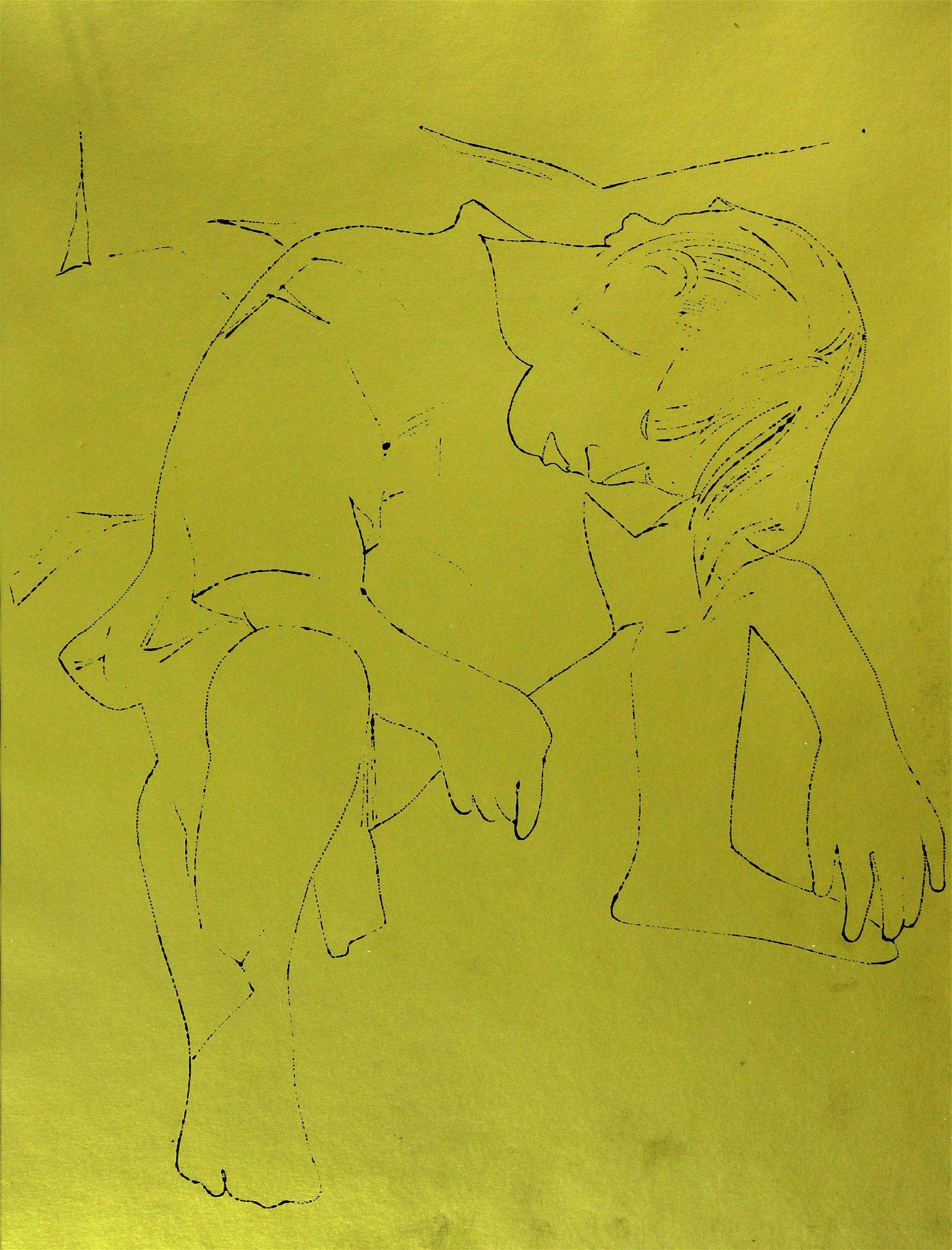 Andy Warhol - A Gold Book III