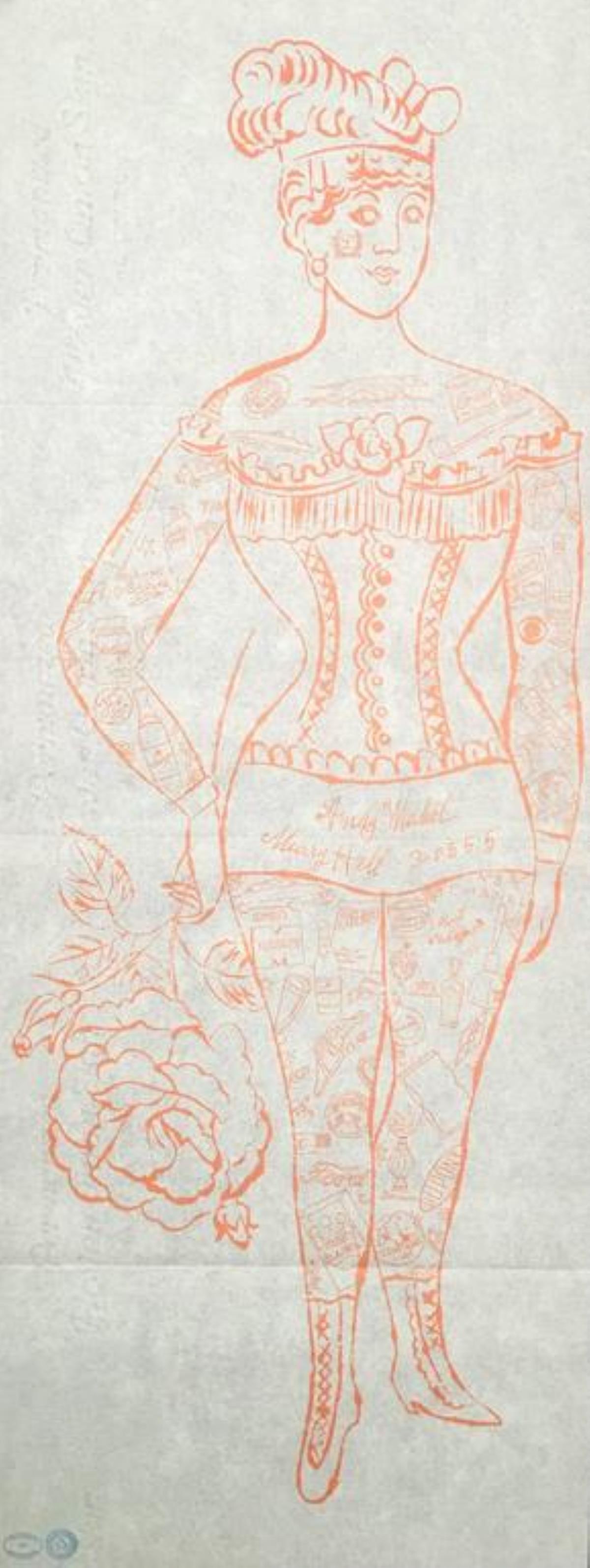 Andy Warhol - Tattooed Woman